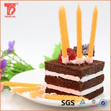 promotional item birthday cake candles/flameless feature and yes handmade birthday candle with best price