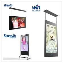 55 inch advertising ultra thin transparent lcd monitor with different colors(different display ways)