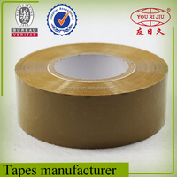High quality water based acrylic bopp film brown packing tape