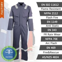 safety workwear flame retardant/anti static/oil repellent