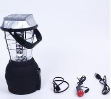 12 LED hanging camping tent light hang lamp LED lantern hand crank hand crank lantern with radio