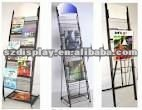 Hot!! 2012 new design metal magzine rack