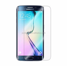 Invisible soft screen protector for samsung S6 edge smart phone HD screen guard full coverage