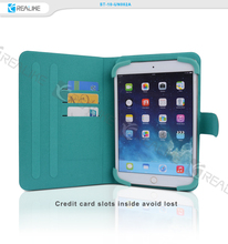 Tpu leather tablet case with card slots for ipad air 2