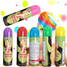 colorful hair spray hair color