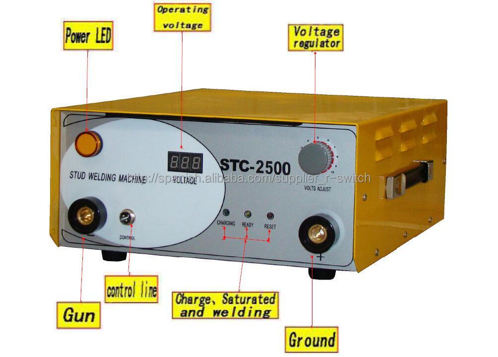 CD Stud soldador / borne a la soldadura para M3-M10 perno-Otros ...