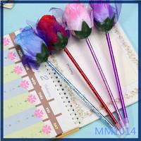 Free sample flower shaped for office pen creative eco-friendly korean stationery cute ballpoint pen