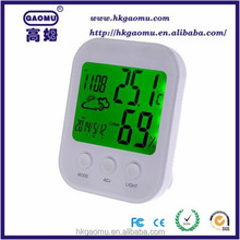 Digital Decorative outdoor indoor thermometer with hygrometer