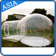 Sight Seeing Inflatable Bubble Cabin With One Room For Camping