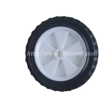 7 inch solid rubber wheel