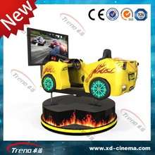 2015 Cheap price Dynamic 3D 4D 5D 7D 9D 12D motion simulator 4 dof simulator for driving school
