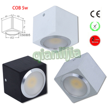 5W COB Ceiling Led Light Surface Mounted Most Powerful Light Ceiling Downlight