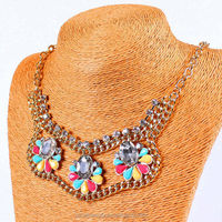 Fashion Japan big Statement Chunky necklace alli express