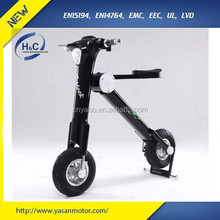 2015 newest 350w/500W lithium battery power folding electric scooter for sale