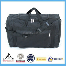 "21"" 40LB Black Duffle Bag/ Gym Bag / Luggage/ Carry on /Suitcase"