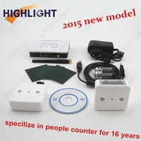 Highlight infrared people counter / wireless people counter / people traffic manual counter