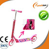 FUNSHION child scooter city kick scooter pink for girls
