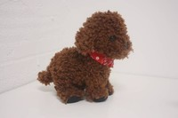 Battery used musical dog plush toy recordable sound plush toy