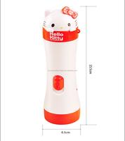 ABS Cute Creative Cartoon Mini Rechargeable LED Flashlight