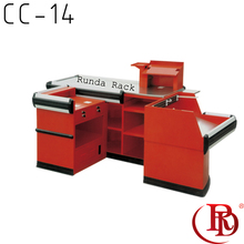 cash register stand shop table display counters for sale