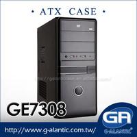 GE7308 atx tower black gaming desktops pc case