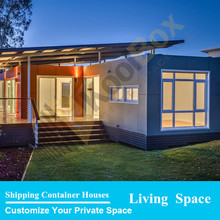 German villa type container house design , container house villa / resort