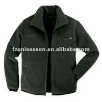 Plain Navy Polar Fleece Jackets