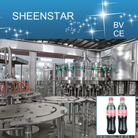 2000-3000BPH Carbonated Water / Beverage Bottle Filling Packing Equipment From SHEENSTAR