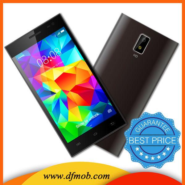 Muy delgada mtk6572 dual core wifi de doble tarjeta SIM del precio de fábrica del teléfono celular 3G teléfono inteligente H3-08