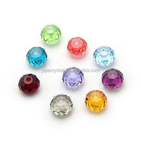 Crystal Bead Rondelle 8mm 72pcs/strand Faceted Chinese Crystal Beads