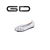 GD comfortable soft bottom special day wedding shoes party shoes flat shoes for women