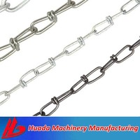 iron galvanized twist link chain
