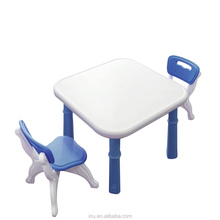 children plastic table and chairs set kids table