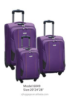 "EVA soft high quality low price luggage factory 20""24""28"" discout luggage new products"