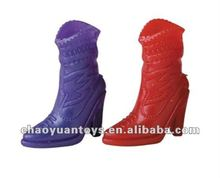 Very popular!!Newest boots plastic doll shoes MU7960258