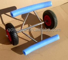strong and durable aluminum kayak trolley