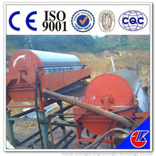Dry magnetic separator used for magnetite iron ore processing plant