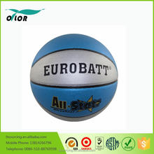 8 pannels Size 7 standard PVC leather laminated indoor outdoor training teams basketball cheap