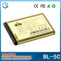 3.7V cheap rechargeable replacement li-ion cell phone battery for Nokia 1100