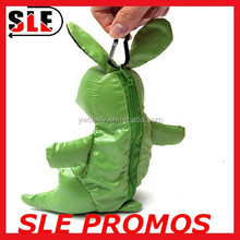 Foldable rabbit shopping bag with zipper