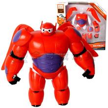 New 16cm Transform Assemble Big Hero 6 Action Figure Toy Fat Balloon Man Doll Baymax transformations Christmas Robot