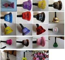 Campana de metal/clave anillo de la campana/anillo para la cerveza