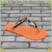 Woman Ankle Strap Diamond Sandals Terry Cloth Thong Slippers