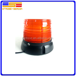 Bright rotating solar warning light/ magnetic beacon