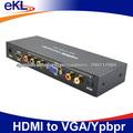 HDMI a YPbPr convertidor HDMI al convertidor del vga con salida de audio de la ayuda 1080P