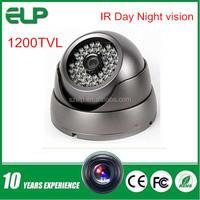 IR day night vision Waterproof smart phone remote surveillance 1200tvl dome cctv camera specifications