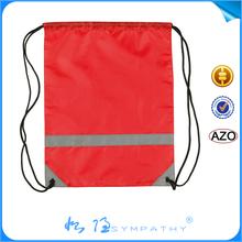 plastic drawstring bag/custom nylon drawstring bag/waterproof drawstring bag