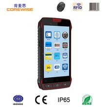 Industrial best pda rugged smart card reader android rfid qr code scanner 3G CDMA portable mobile smart phone UHF RFID reader