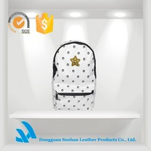Customized outdoor backpack white backpack