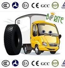heavy duty ruedas de camión con patrones de invierno